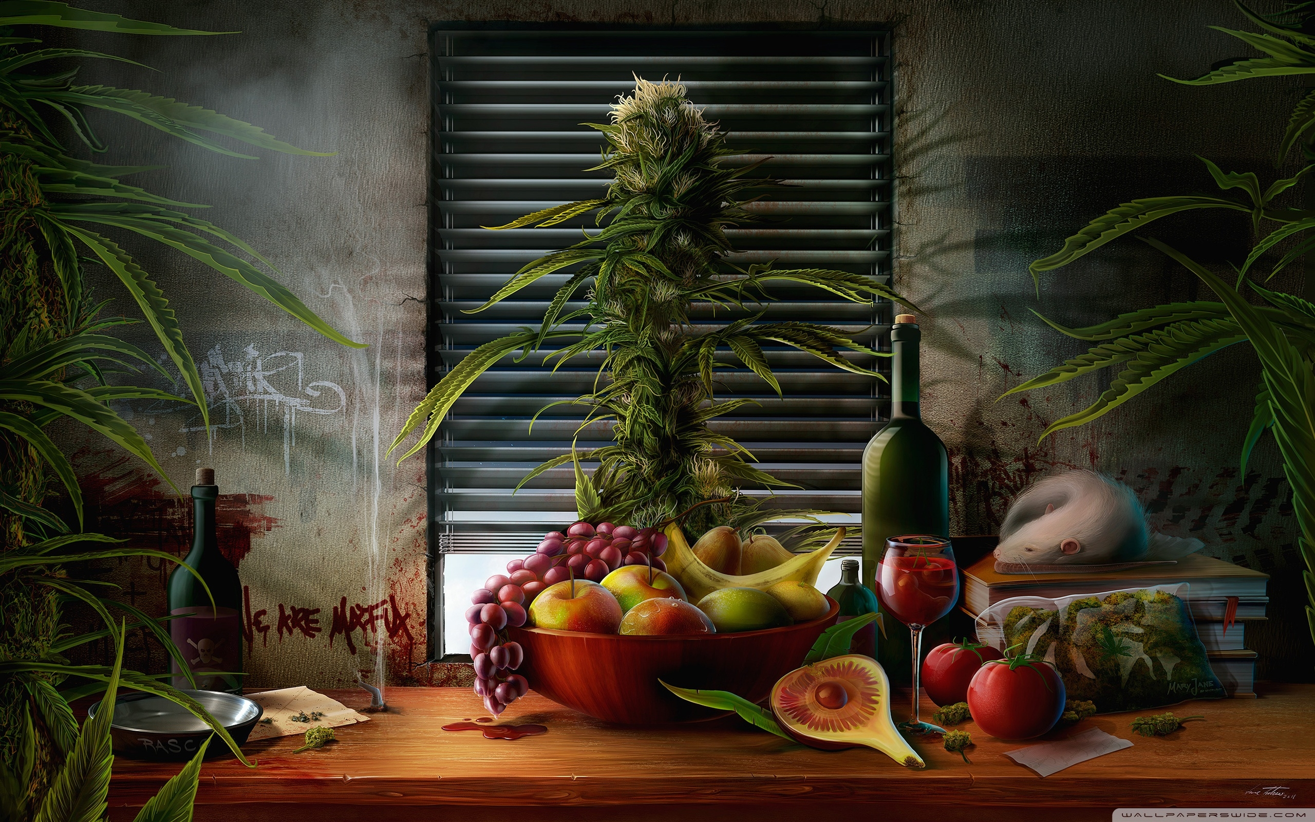 wallpaper, конопля, марихуана, каннабис, канна-тематика, обои на рабочий стол, фотообои, обои, фото, высокое разрешение, full HD, яркая картинка, заставка на рабочий стол, заставка,